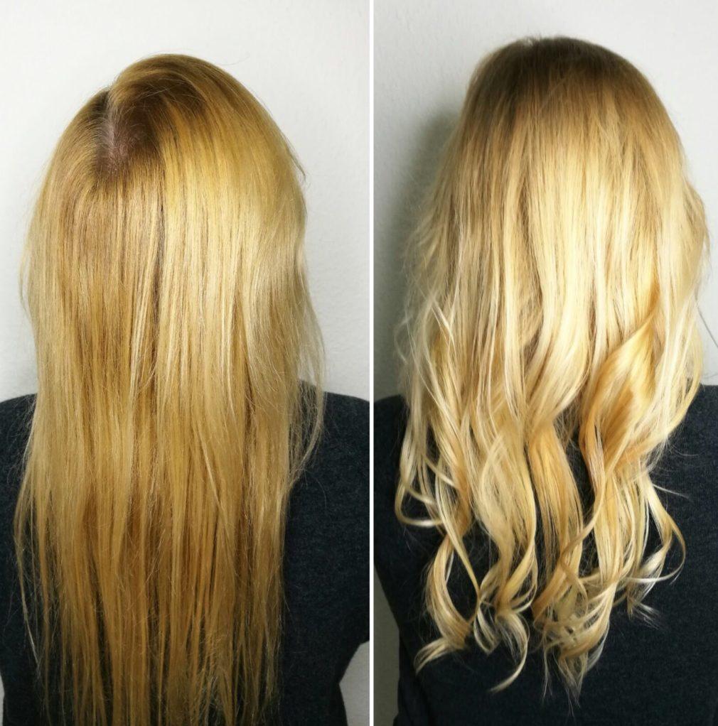 Blondierung mit Olaplex  - Sonjas Friseurladen